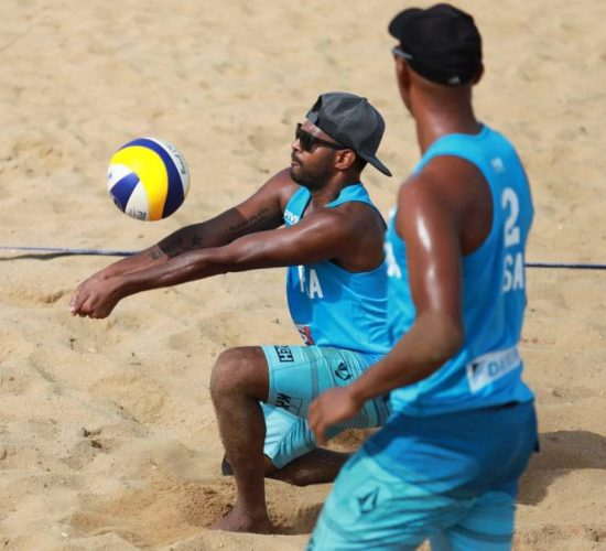 SA Beach Volleyball Team Continental Cup Tanzania