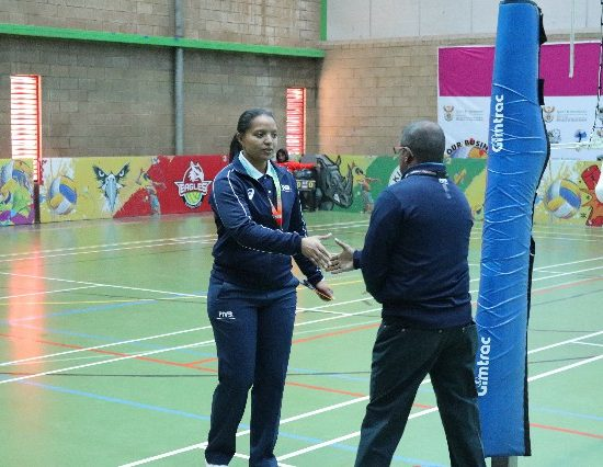 Tania Lewis South African Female FIVB Referee