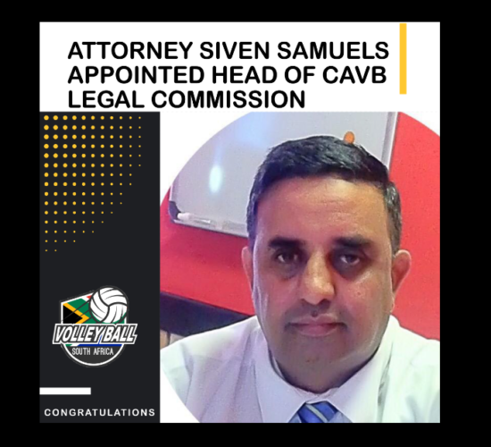 Siven Samuels CAVB Head of Legal Commission