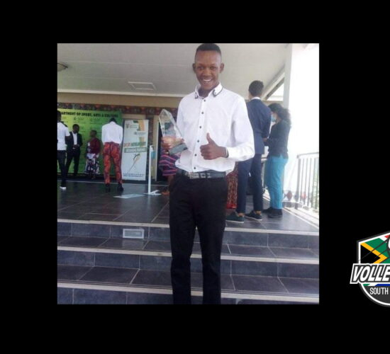 Jonas Mothobi for being honoured by Limpopo - the MEC of Sports